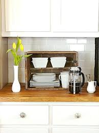 kitchen countertop storage ideas kitchen countertop shelves make the best use of the space