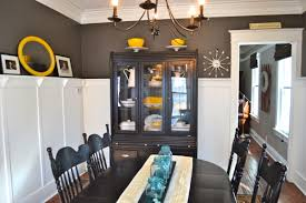 dining room fresh grey and yellow dining room ideas home design