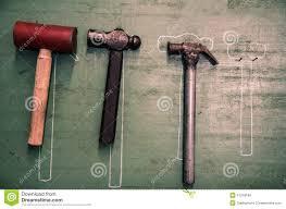 hammer hanging stock photo image 41318189