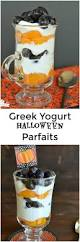 greek yogurt halloween parfaits little dairy on the prairie