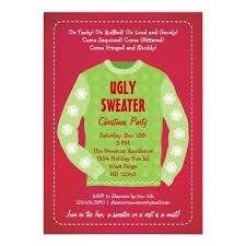 ugly sweater christmas party invitations dancemomsinfo com