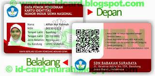 membuat id card bbm 081320607341 cetak id card murah bandung kartu pelajar member emboss