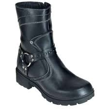 women s street motorcycle boots milwaukee women s daredevil black leather motorcycle boot mvb239