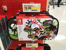 target black friday mario kart my local target is already selling splatoon 2 switch console cases