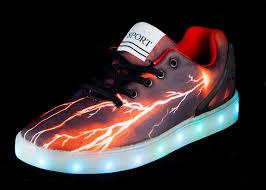 big kids light up shoes big kids led light up shoes pulsar black red cheap sale