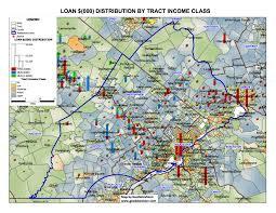 Double Map Loan Distribution Maps Geodatavision