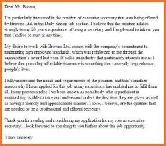 good cover letter sow template