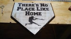 baseball home plate wall decor