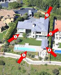 kim kardashian and kanye west u0027s renovations at mansion revealed