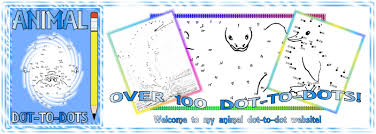 easy printable animal dot to dots for kids