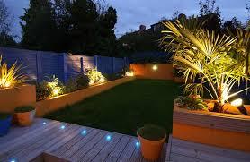 V Landscape Lights - truly innovative garden step lighting ideas garden lovers club