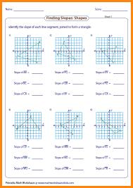 7 slope of a line worksheet media resumed