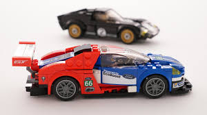 lego ford lego u0027s ford gt speed champions kit is already a winner