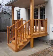 side porches side entrance porch remodel prairie construction