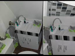 how to make a doll bathroom sink youtube