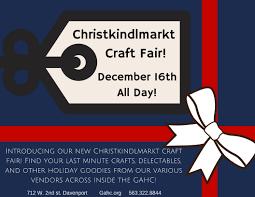 christkindlmarkt craft fair u2013 german american heritage center u0026 museum