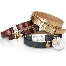 leather bracelet designs images Personalised ladies luxe leather maxi friendship id bracelet jpg