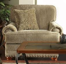 Chenille Sleeper Sofa Chair In Sand Chenille By Jackson Furniture 4293 01