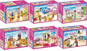 playmobil chambre bébé playmobil maison de poupées set en 6 5304 5306 5307 5308