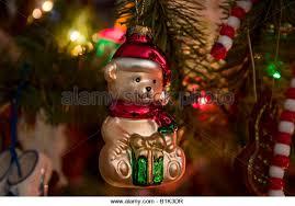 Teddy Bear Christmas Tree Ornaments by Ornament Bear Stock Photos U0026 Ornament Bear Stock Images Alamy