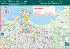 Asturias Spain Map by Large Gijon Maps For Free Download And Print High Resolution And