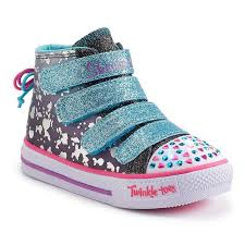 light up shoes size 12 skechers twinkle toes shuffles skip n jump girls light up