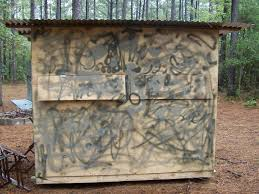 Deer Hunting Box Blinds Plans A Diy Guide On Building A Box Blind Hunting Blind Deer Blind