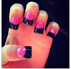 408 best nails acrylic french tip images on pinterest pretty