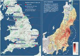 Fukushima Fallout Map by Radioactive Fallout Maps 20 Millisieverts Per Year