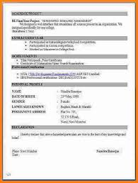 Resume Document Resume Format Word Document 28 Images Resume Format Word