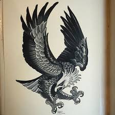 best 25 traditional eagle tattoo ideas on pinterest traditional