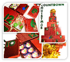 dollar tree craft 12 days of christmas gift calendar diy craft