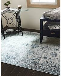 5 8 Area Rugs Spectacular Deal On Unique Loom Sofia Collection Light Blue 5 X 8