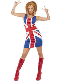 union jack dress partynutters uk