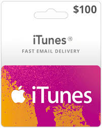 gift cards email 100 usa itunes gift card itunes card instant email delivery