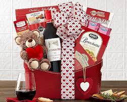 christmas wine gift baskets s day cabernet wine gift basket at gift baskets etc