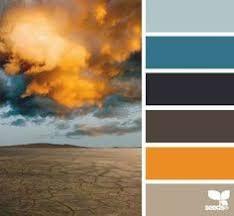 color palette blue gray orange google search project mill