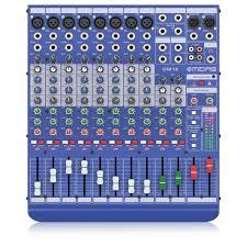 midas console table de mixage analogique midas dm12 12 canaux 罌 gear4music