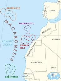 Cabo Verde Map Macaronesia Is A Collection Of Four Archipelagos In The North