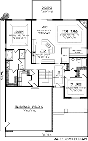 Floor Plan With Garage by Home Design 2 Bedroom Beach House Plans Underground Floor With