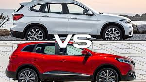 renault kadjar 2016 2016 renault kadjar vs 2016 bmw x1 youtube