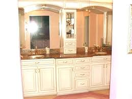 tower cabinets in kitchen counter cabinet bathroom counter tower cabinet plain bathroom vanity