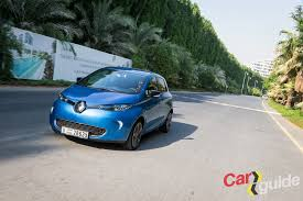 renault dubai electric revolution 2017 renault zoe in the region carguideme