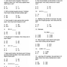 multiplication and division practice worksheets u0026 mixed problems