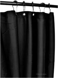 Thick Black Curtains Shower Curtains