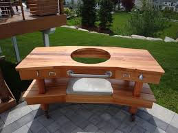 green plans big green egg table plans diywoodtableplans