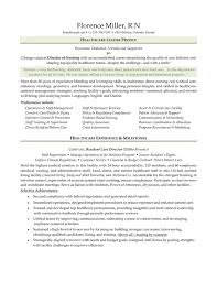 Nursing Resume Examples With Clinical Experience by Career Change Resume Samples Free Resumes Tips