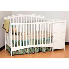 White Crib And Changing Table Changing Tables White Cribs With Changing Table White Mini Crib