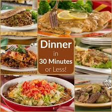 diabetic thanksgiving dinner menu quick and easy dinners in 30 minutes or less