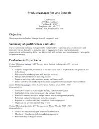 sample product manager resume u2013 topshoppingnetwork com